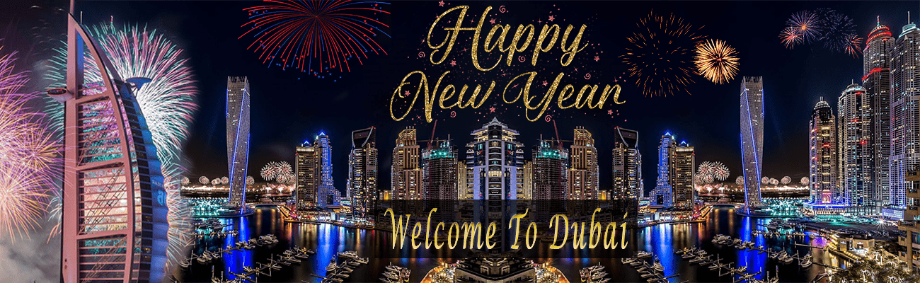 Happy New Year From Dubai Travel Tourism